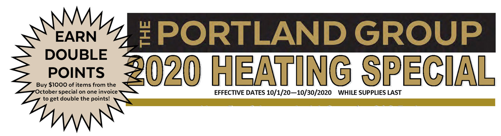 Fall Heating Special